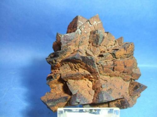 siderita mina la hoya Guejar sierra Granada  pieza de 8x6cm aristas de los cristales de 25mm.jpg (Autor: Nieves)