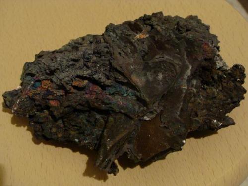 Goethita. Mina El Potosí, Santa Eulalia, Chihuahua, México. Tamaño de la pieza 14 cm. (Autor: javmex2)