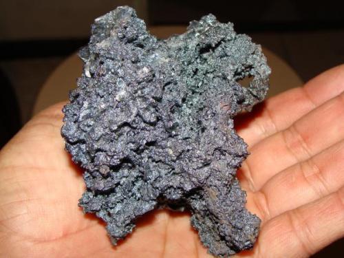 Goethita, mina El Potosí, Santa Eulalia, Chihuahua, México. Tamaño de la pieza 10 cm. (Autor: javmex2)