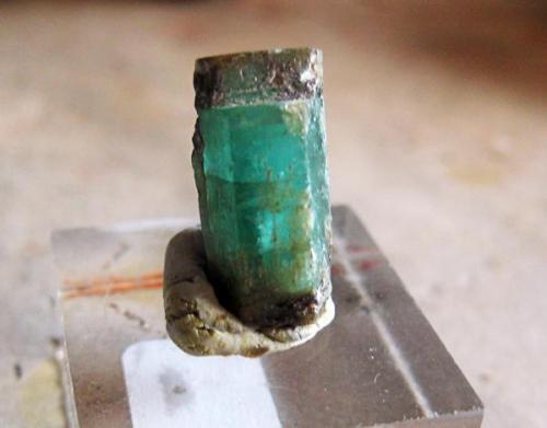 Esmeralda, cristal 25 mm aproximadamente. 1993-1994 (Autor: usoz)
