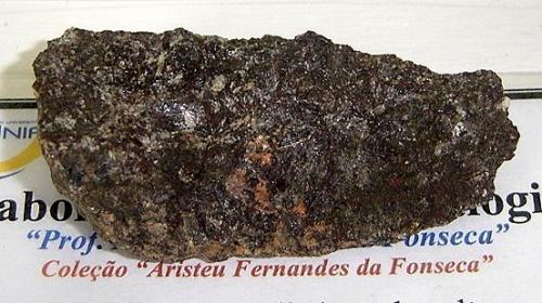 Cobre nativo. Muestra con 7cm. Pedreira Brasília- Guaíba-Bom Princípio-RS- Brasil (Autor: Anisio Claudio)