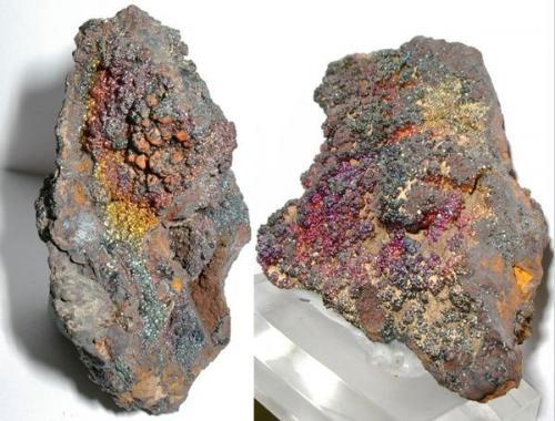 Goethita<br />Mina Botalaria, Borriol, Castelló / Castellón, Comunitat Valenciana, España<br />6 x 4 cm. aprox.<br /> (Autor: Adrian Pesudo)