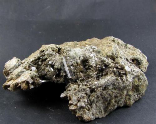 Vesubiana - Montalvo - Sanxenxo - Pontevedra. Tamaño cristal mayor 2 cm (Autor: Rodrigo Fresco)