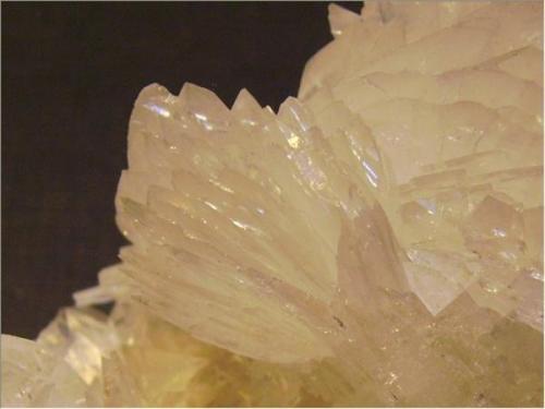 Close-up of the colemanite (Author: Antonio Alcaide)