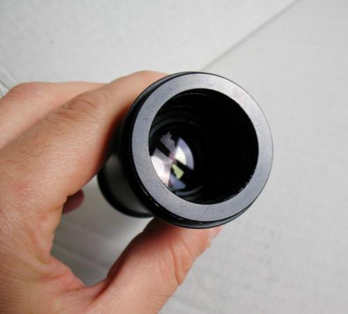 Óptica interior del adaptador, es el ocular de proyección que comenta Soldevilla (Autor: Joan Rosell)