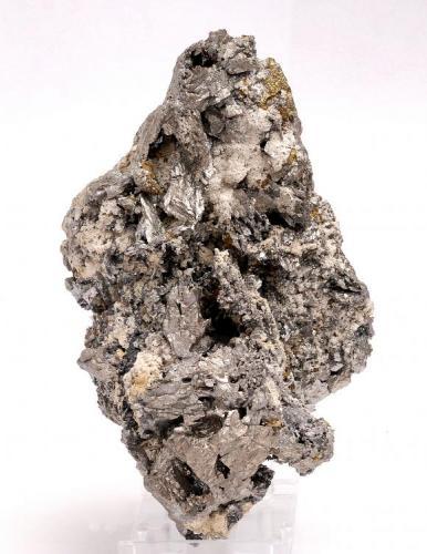 Löllingita - Minas de oro de Carlés - Salás - Asturias - España - 14,1 x 10,2 x 9,9 (Autor: Martí Rafel)