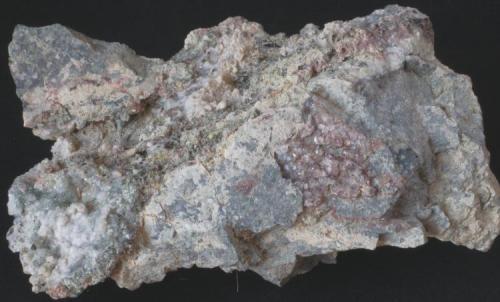 Analcima - Mina Maria, Baños de Gilico, Cehegín, Murcia, España Medidas: 8 x 5,5 x 4 cms (Autor: Joan Martinez Bruguera)