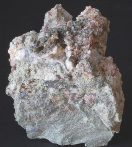 Analcima - Mina Maria, Baños de Gilico, Cehegín, Murcia, España Medidas: 6 x 6 x 5,5 cms (Autor: Joan Martinez Bruguera)