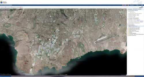 Mapa de la Red Geodesica de Grafcan del Municipio de Arona y aledaños. (Autor: Jose Bello)