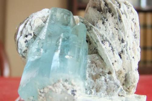 Aguamarina Kanchanjunga Nepal Cristal de 30 mm (Autor: joaquin cabezudo)