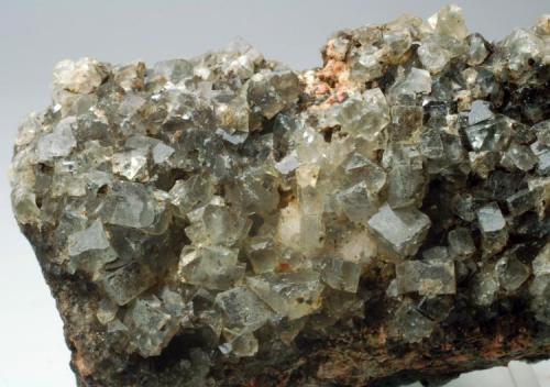 Fluorita Mines de Sant Marçal - Viladrau - Montseny - Osona - Girona - Catalunya - España 80 x 45 x 30 mm Detalle (Autor: Joan Martinez Bruguera)
