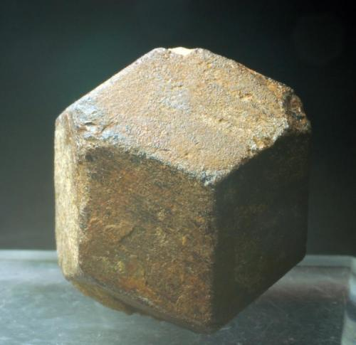 Granate Pinilla de Fermoselle - Zamora - Comunidad de Castilla y León - España 25 x 25 x 25 mm (Autor: Joan Martinez Bruguera)