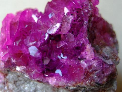 Calcite (cobaltoan) Katanga Copper Crescent, Katanga (Shaba), Democratic Republic of Congo (Zaïre) FOV 25 mm  (Author: Tobi)