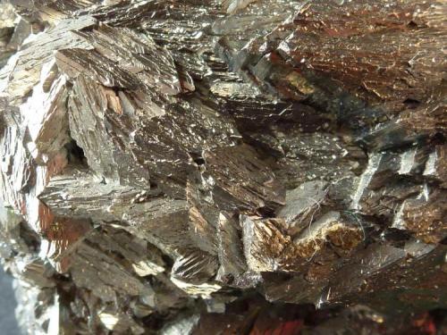 Arsenopirita Panasqueira, Portugal 5 x 4 cm.  Detalle de la pieza anterior (Autor: javier ruiz martin)