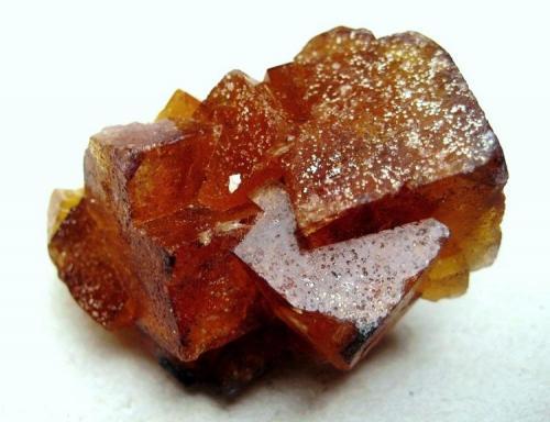 """""""Honigspat"""" fluorite Marienschacht Mine, Wölsendorf, Bavaria, Germany Specimen width 40 mm (Author: Tobi)"""