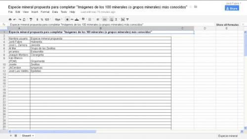 La lista al final de su primer día (Autor: Jordi Fabre)
