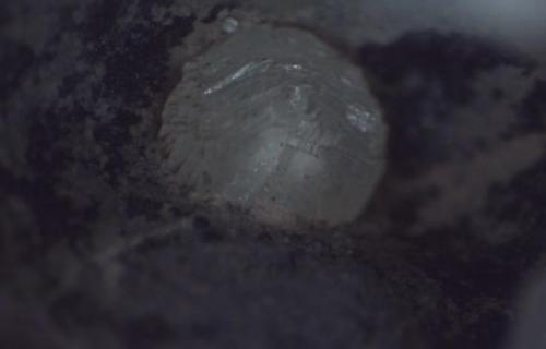 Zeolitas cantera del Volcán Ceniciento, Las Palmas de Gran Canaria 0,41 mm el cristal (Autor: Jose Bello)