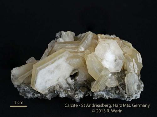 Calcite St Andreasberg, Hartz Mts (Author: Roger Warin)