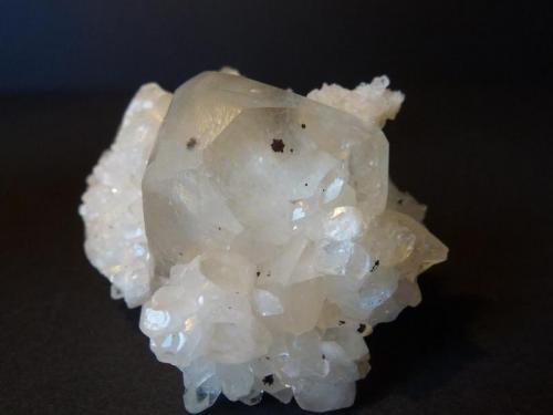 Calcita<br />Zona minera de La Florida, Herrería-Valdáliga-Rionansa, Cantabria, España<br />4,5 x 3,5 cm.<br /> (Autor: javier ruiz martin)