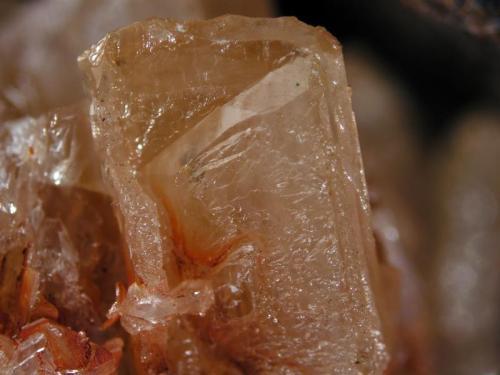 Cerussite Filón Sur, Tharsis, Alosno, Huelva, Spain 1 cm crystal 1 cm crystal of cerussite from the gossan of Filon Sur (Author: Cesar M. Salvan)