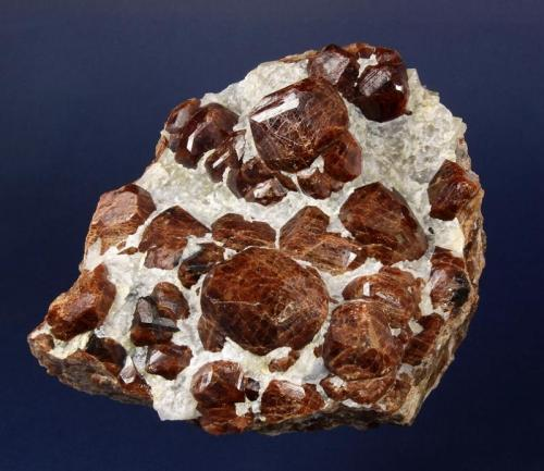 Grossular Havilah, Kern County, California 15 cm (Author: GneissWare)