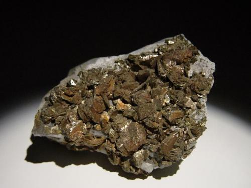 Arsenopyrite Golden Cross Mine, Waihi, New Zealand 6x5 cm (Author: Greg Lilly)