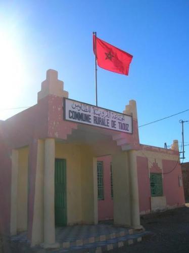 Centro de Taouz (Autor: Gonzalo Garcia)