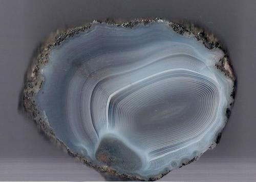Agate Scotland, UK 7 x 5 cm (Author: James)