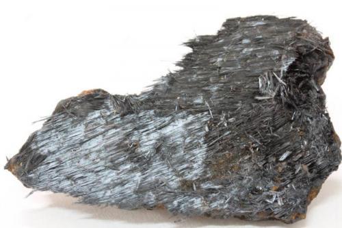 Óxidos de Manganeso - Hollandita Playa Cola de Caballo, Portmán, La Unión, Sierra Minera de La Unión-Cartagena, cartagena, Murcia, España 52x35x9 mm (Autor: Carles)