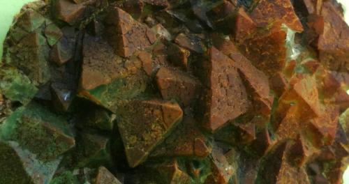 Fluorita<br />Pedrera Berta, Turó de Can Domènech, Serra de Roques Blanques, Sant Cugat del Vallès-El Papiol, Comarca Vallès Occidental / Baix Llobregat, Barcelona, Catalunya, España<br />6 x 6 cm<br /> (Autor: juan martin)
