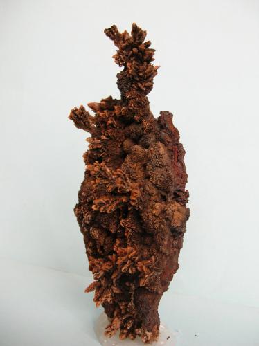 Baritina Mina La Morena, El Gorguel, Cartagena, Murcia, Región de Murcia, España 14,5 x 7 cm Otro ángulo. (Autor: Pedro Conesa)