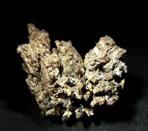 Plata pseu. Discrasita.<br />Mina Uranium número 21 (pozo número 21), Háje, Příbram, Región Bohemia Central, Bohemia, República Checa<br />50x45 mm.<br /> (Autor: Jesus Franquesa Baucells)