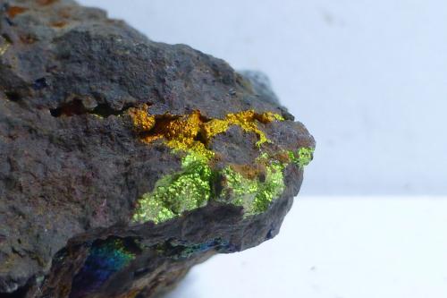 Goethita<br />Mines Can Palomeres, Malgrat de Mar, Comarca Maresme, Barcelona, Catalunya, España<br />Encuadre 3x2 aprox.<br /> (Autor: heat00)