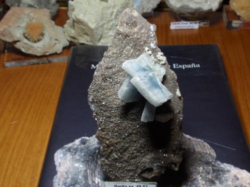 Barita<br />Mina Moscona, El Llano, Solís, Corvera de Asturias, Comarca Avilés, Asturias, Principado de Asturias, España<br />70x130 mm<br /> (Autor: Ignacio)