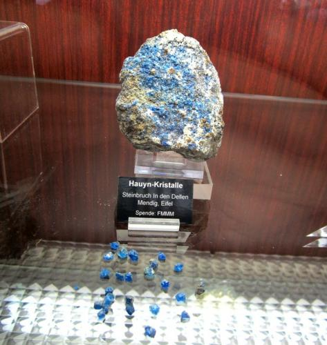 Collection: Mineralogical Museum Marburg (my photo) (Author: Tobi)