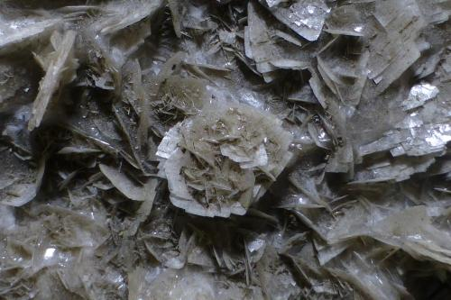 Barita<br />Mines Can Palomeres, Malgrat de Mar, Comarca Maresme, Barcelona, Catalunya, España<br />Encuadre 3x2cm aprox.<br /> (Autor: heat00)
