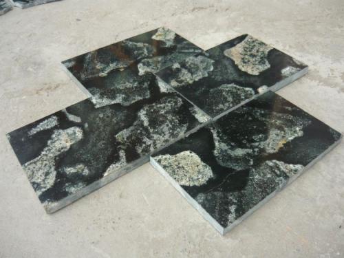 Andesita con Granodiorita y Tonalita Cantera MARMOREAL Lima Peru 50X30CM La misma roca,Pulida (Autor: Francisco Romana)