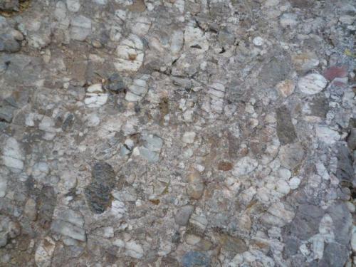 """Conglomerado con clastos silíceos Laguna Negra, entre los municipios de Vinuesa y Covaleda, Soria, en Castilla y León (España)"""". Ancho de imagen 30 cm. (Autor: María Jesús M.)"""