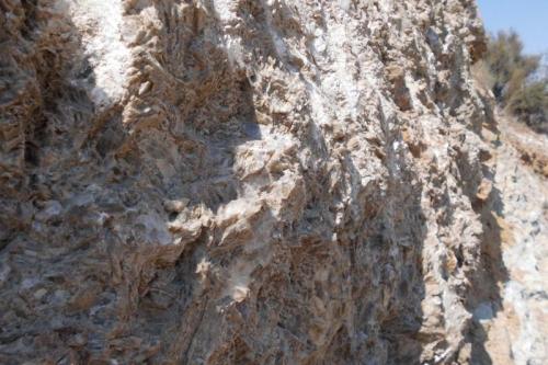 Yeso Carretera a Herrerías, Almería, Andalucía, España (Autor: Jose F. Castro Medina)