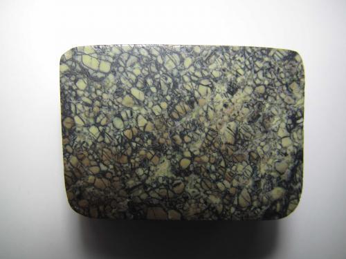 Komatiita<br />Formación Komati, Barberton Greenbelt, Sudáfrica<br />3''5 x 2''5 cm.<br /> (Autor: prcantos)