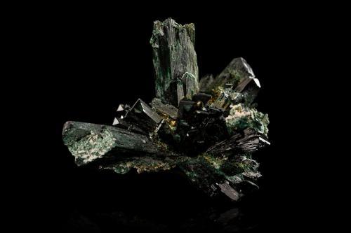 Atacamite<br />Mina New Cornwall, Kadina, Península Yorke, South Australia, Australia<br />7,5x7,5x9,0cm<br /> (Author: MIM Museum)