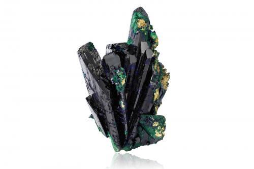 Azurite with Malachite<br />Mina Tsumeb, Tsumeb, Región Otjikoto, Namibia<br />17,5x12,5x8,5cm<br /> (Author: MIM Museum)