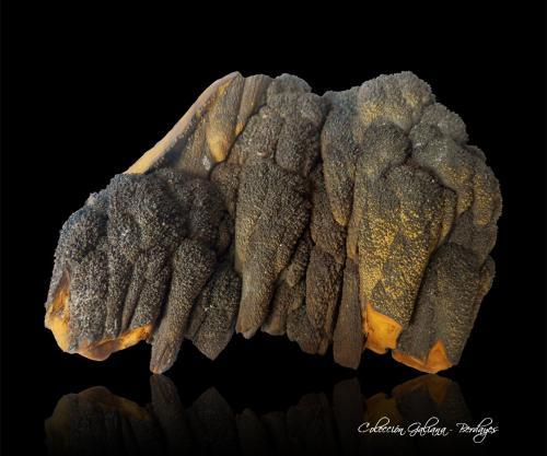 Goethita<br />Mina Trinidad, Cerros del Romeral y Pechón, Benalmádena-Mijas, Comarca Costa del Sol Occidental, Málaga, Andalucía, España<br />91 x 71 x 40 mm.<br /> (Autor: Rafael Galiana)