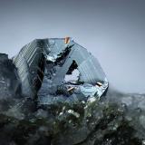 Hematite<br />Lohning Quarry (Lohninger Quarry), Hüttwinkl Valley, Rauris Valley, Hohe Tauern, Salzburg, Austria<br />FOV 5 mm<br /> (Author: Gerhard Brandstetter)