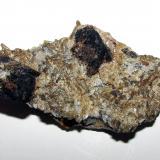 Casiterita<br />Minas de Penouta, Penouta (San Bartolomé), Viana do Bolo, Comarca Viana, Ourense/Orense, Galicia, España<br />6''4 x 3''8 cm.<br /> (Autor: phrancko)