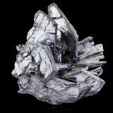 MolybdeniteChimenea Old 45, Kingsgate, Condado Gough, Nueva Gales del Sur, Australia14,0x11,5x12,0cm (Author: MIM Museum)
