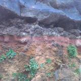 Roca rubefacta.La Palma, Provincia de Santa Cruz de Tenerife, Canarias, España (Autor: canada)
