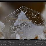 Tridymite and RutileCantera Caspar, Volcán Bellerberg, Ettringen, Mayen, Eifel, Renania-Palatinado/Rheinland-Pfalz, Alemaniafov 2.6 mm (Author: ploum)