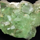Fluorite and pyrite<br />Naica Mine, Naica, Municipio Saucillo, Chihuahua, Mexico<br />9 x 6.5 x 4.3 centimeters<br /> (Author: Ricardo Melendez)