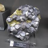 Galena, Siderite, Quartz<br />Neudorf, Harzgerode mining district, Harz, Saxony-Anhalt/Sachsen-Anhalt, Germany<br />Specimen size ~ 25 cm<br /> (Author: Tobi)